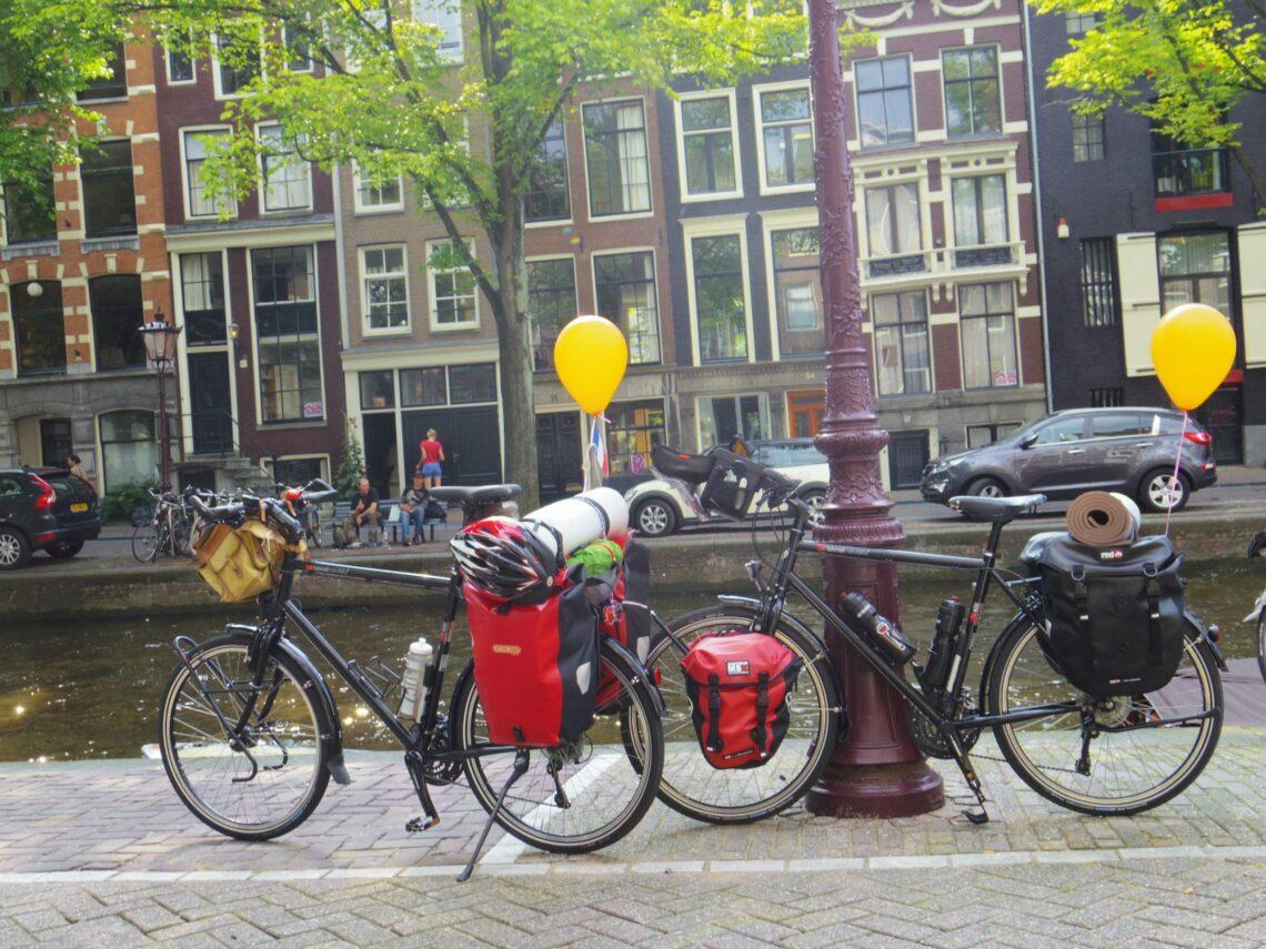 Amsterdam-Cap Nord à vélo : c'est parti !