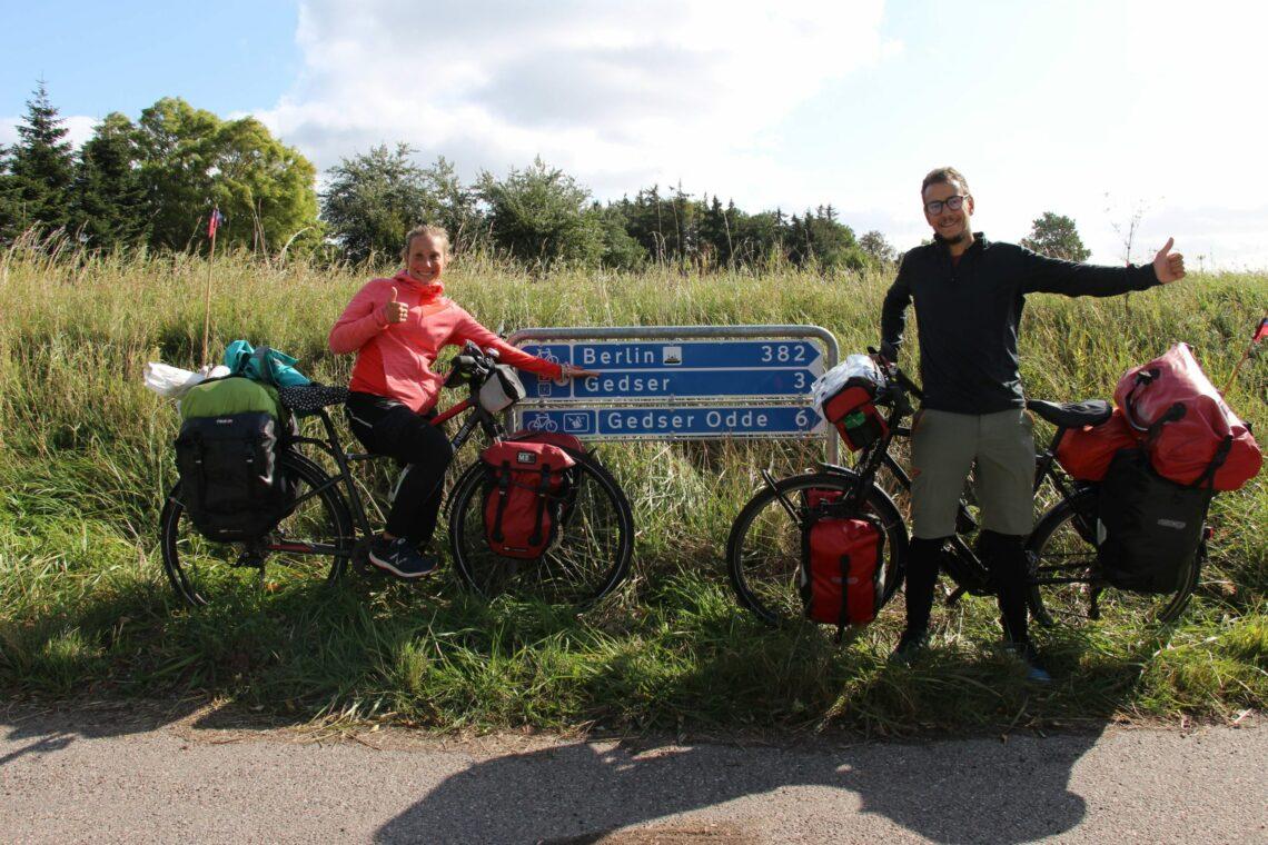 De Copenhague à Berlin à vélo par l'EuroVelo 7 !