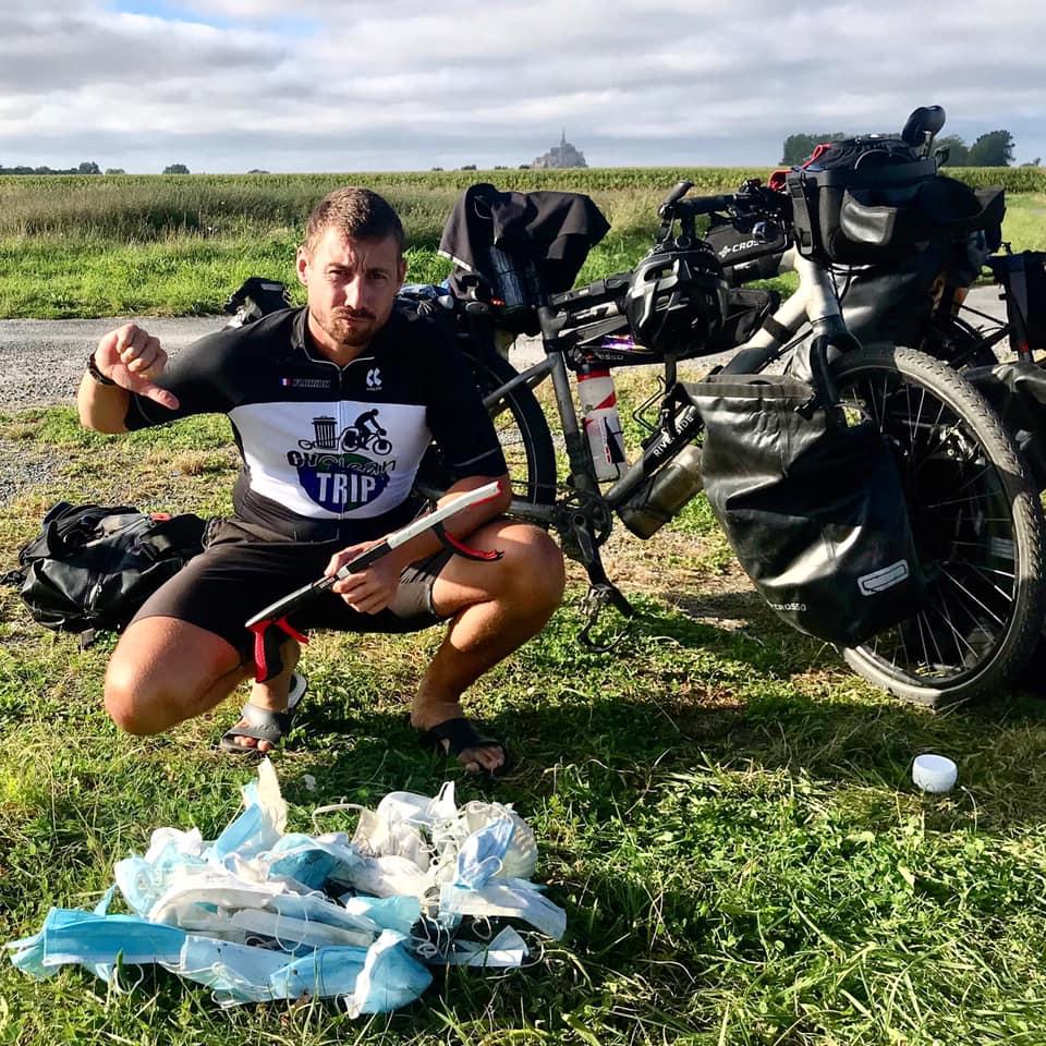 Un voyage à vélo contre les déchets avec Cycleantrip