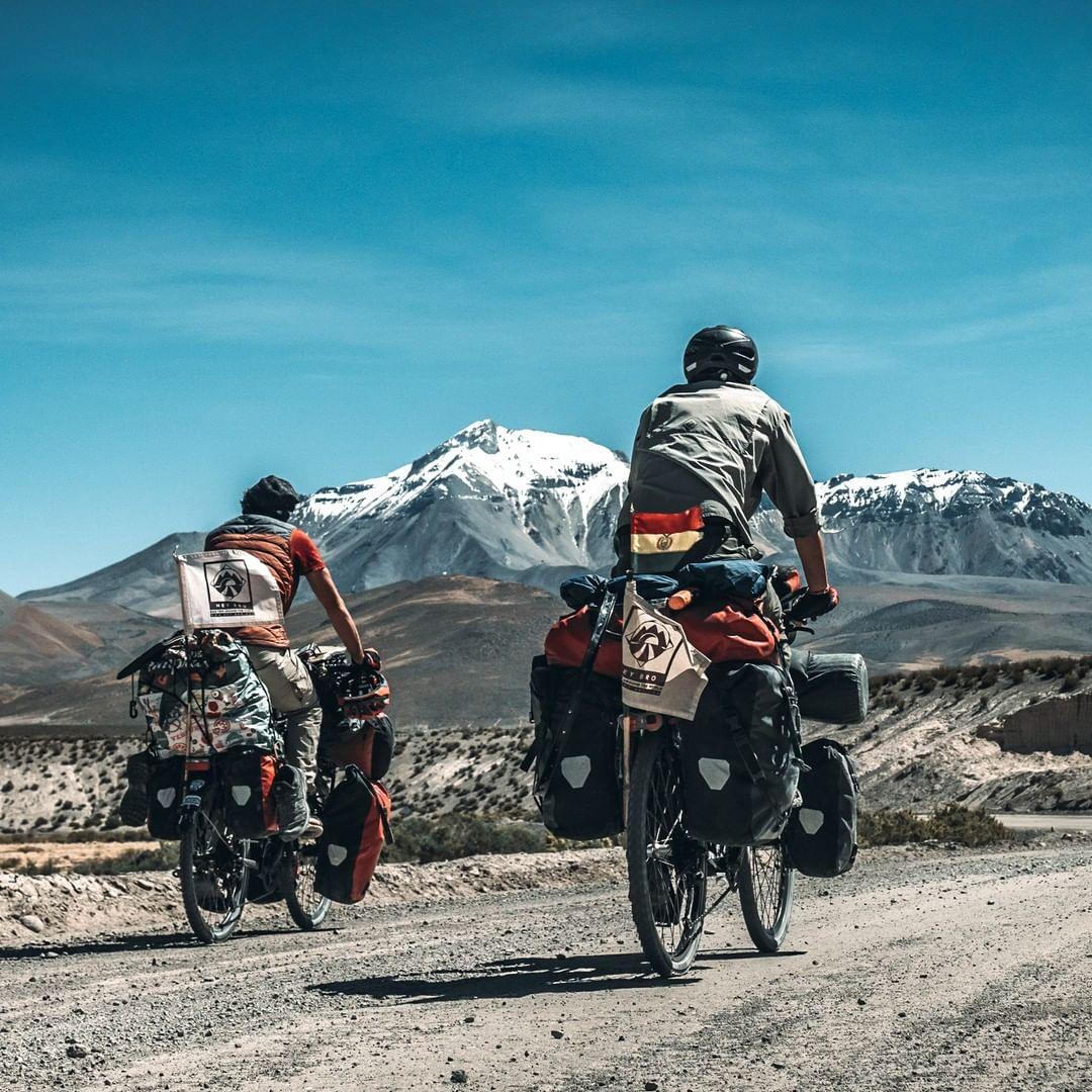 INTERVIEW : Deux frères à vélo autour du monde avec Hey bro