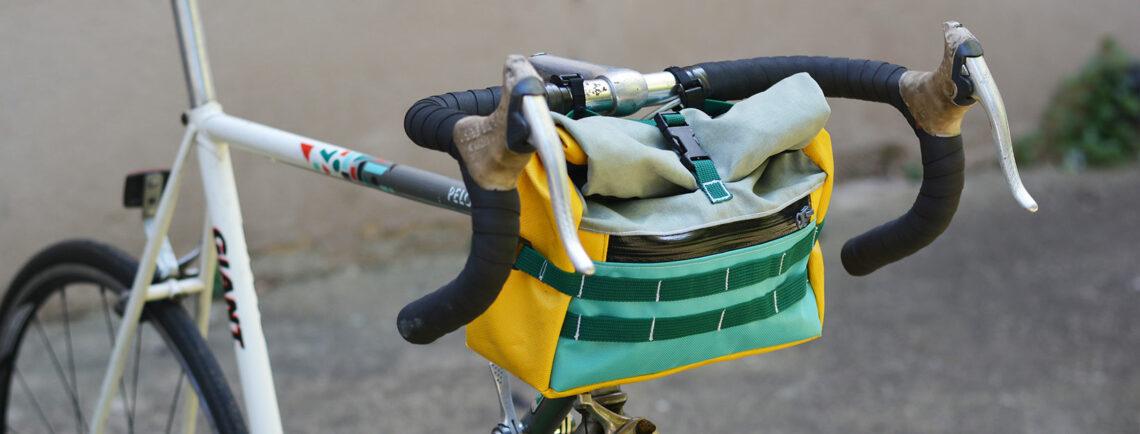 """Les sacoches vélo écolo du """"Rouquin Qui Roule"""""""