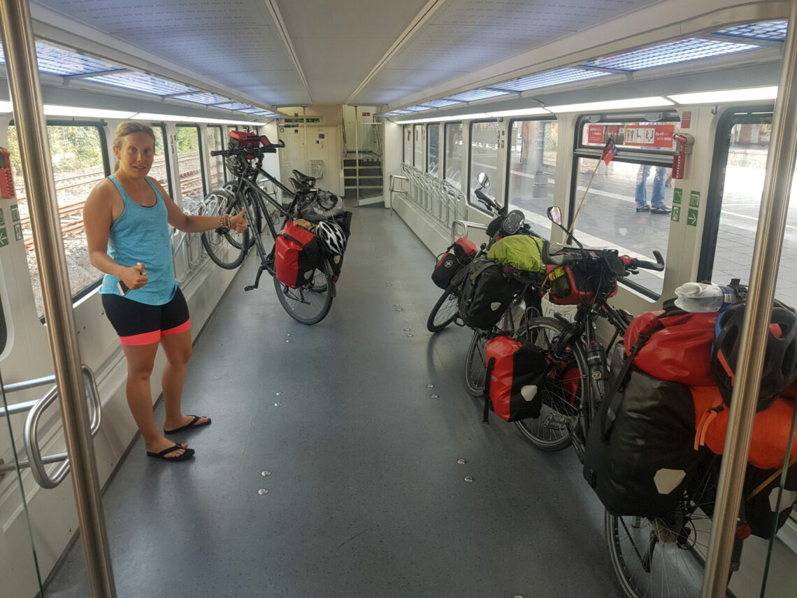 Prendre son vélo dans le train en France et en Europe