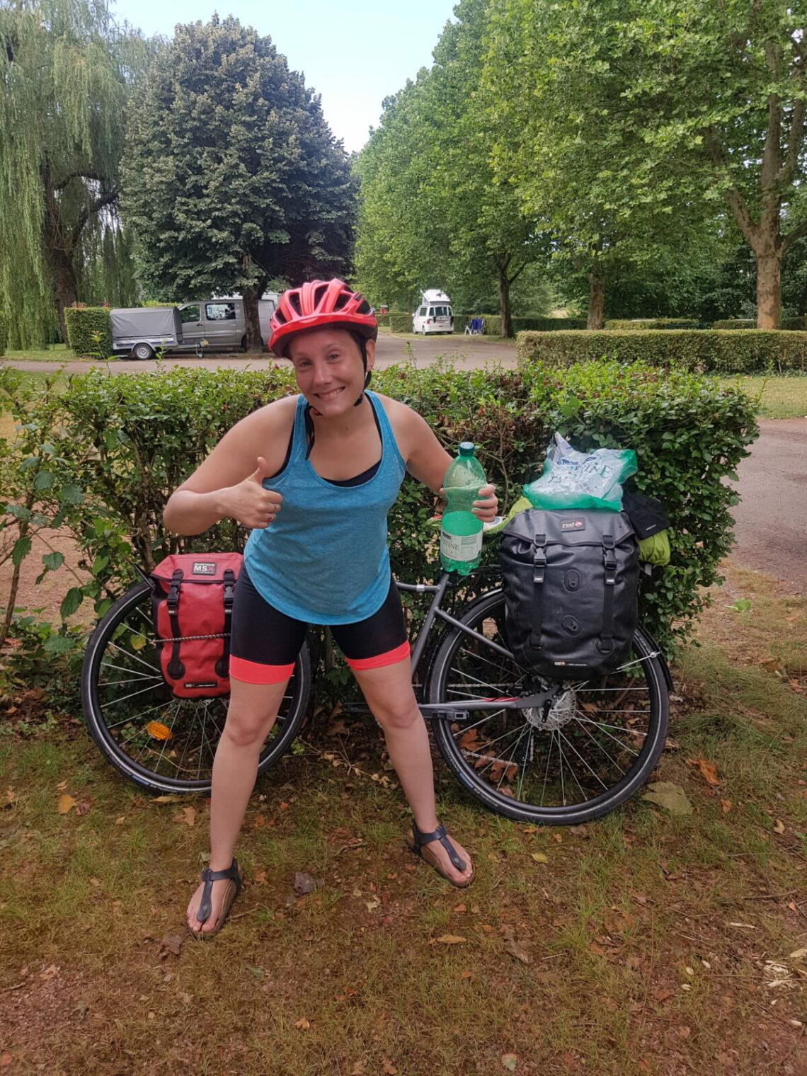 Casque ou pas en voyage à vélo ?