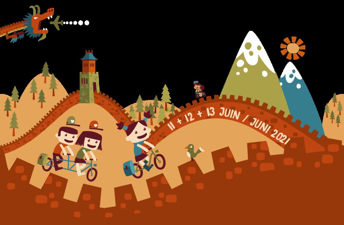 En roue libre 2021 – Le festival du voyage à vélo belge